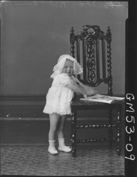 PORTRAIT OF CHILD, F/L CUMMINGS