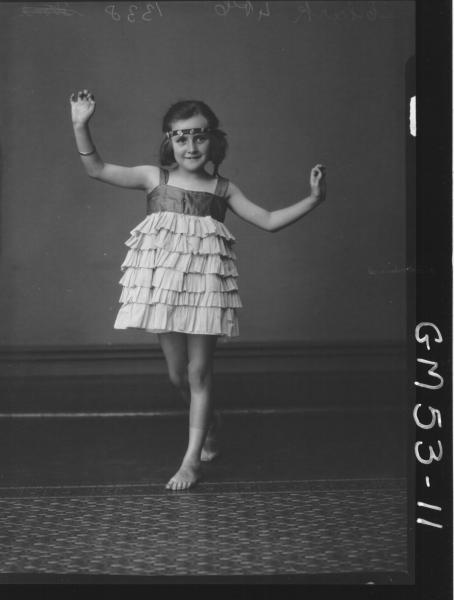 PORTRAIT OF CHILD, F/L CLARK