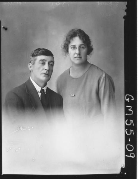 PORTRAIT OF WOMAN AND MAN, PORTER