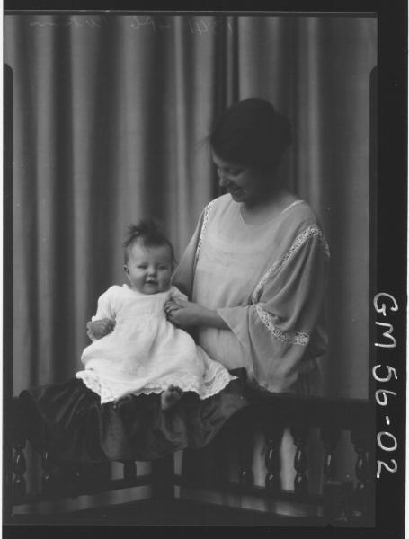 PORTRAIT OF WOMAN AND BABY, PERKINS
