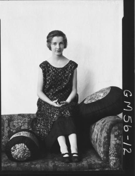 Portrait of young woman F/L, Osbourne