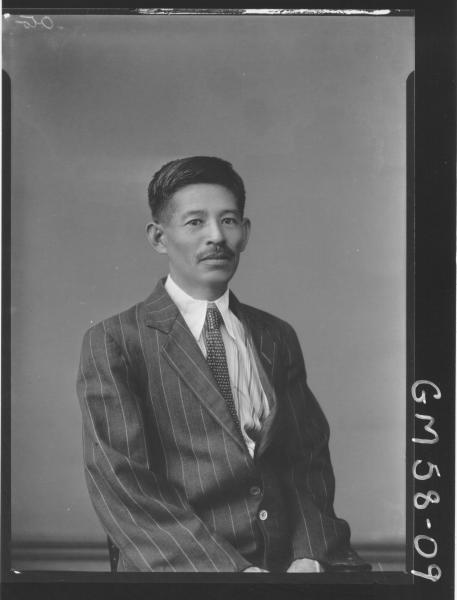 Portrait of Japanese man H/S Oto