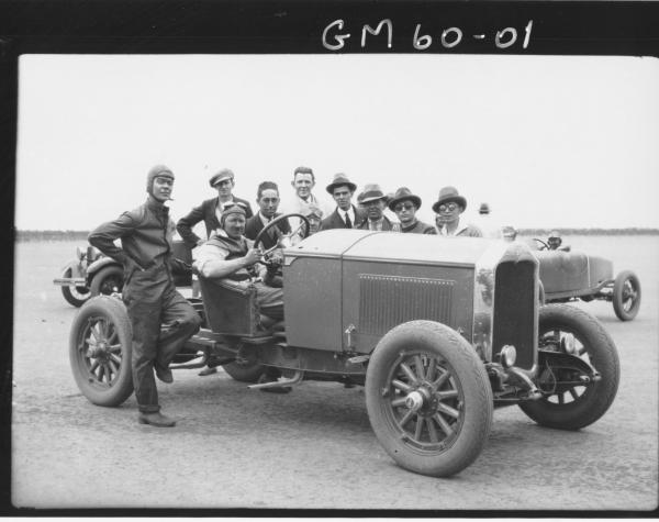 Studebaker sports car trials lake Perkollili