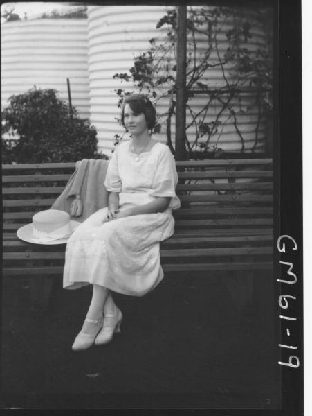 Portrait of woman F/L, Moore