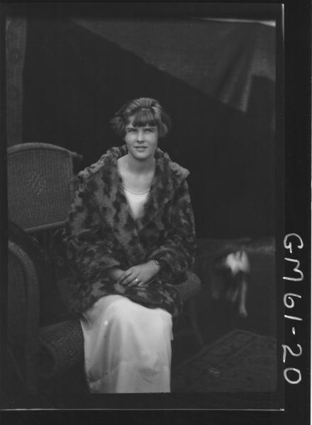 Portrait of woman, Moore