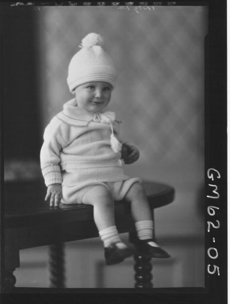 Portrait of baby Moran