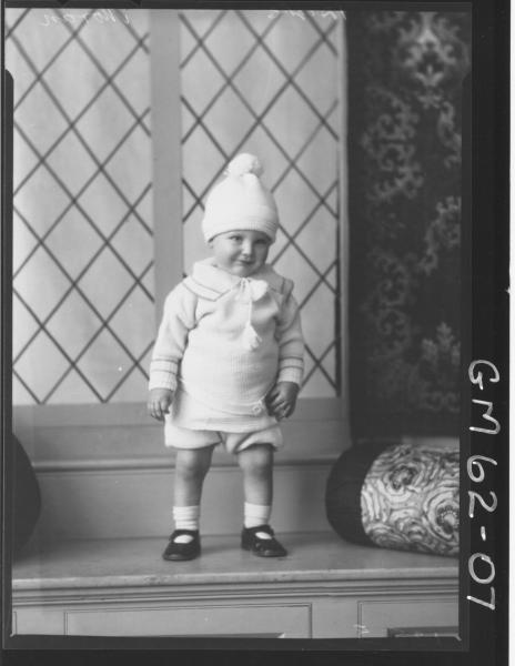 Portrait of baby Moran