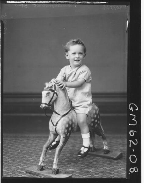 Portrait of child Morris