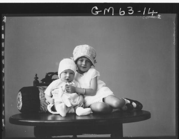 Portrait of two children Taylor