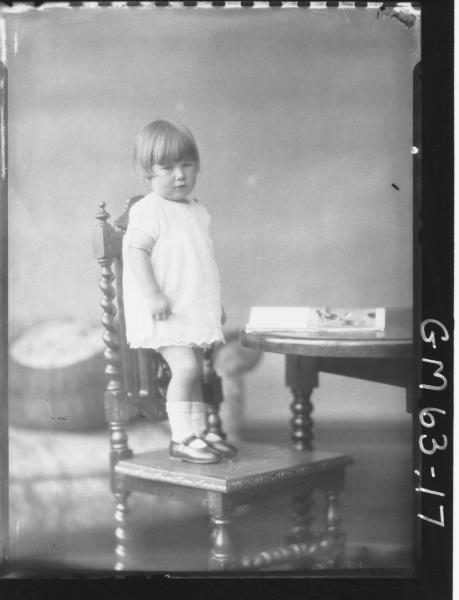 Portrait of child F/L, Thomas
