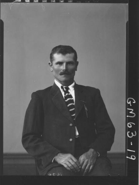 Portrait of man H/S, Jurepidyo
