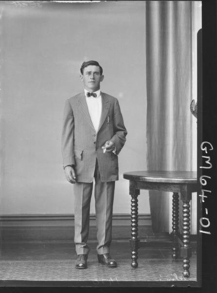 Portrait of man F/L, Telini