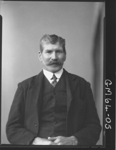 Portrait of man Thomas