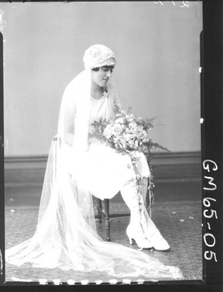 Portrait of bride Warburton