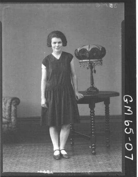 Portrait of woman F/L, Yates