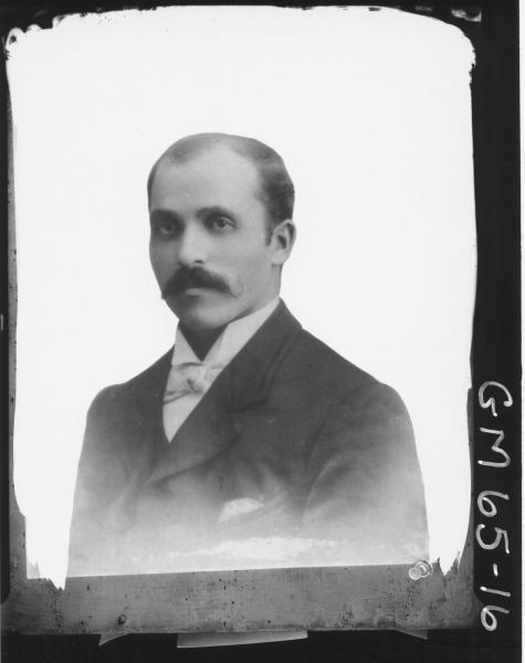 Copy of portrait of man H/S, Villa