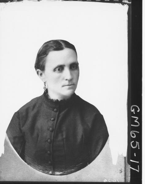 Copy of portrait of woman H/S, Villa