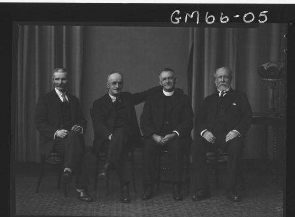 Four Ministers at Presbyterian Sessions