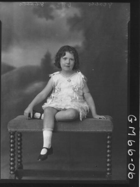 Portrait of child F/L, Reynolds