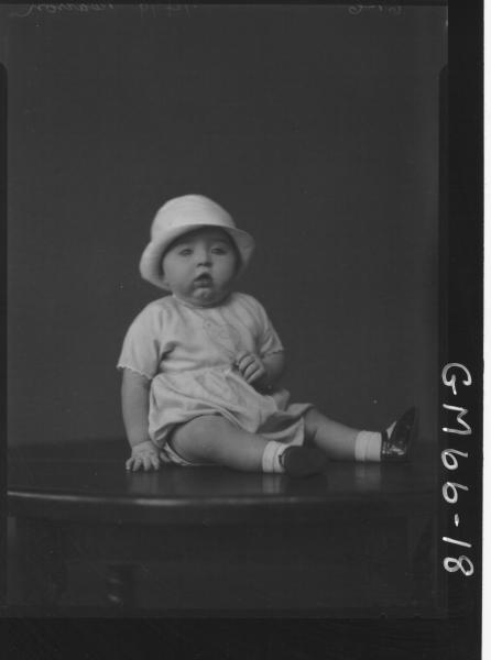 PORTRAIT OF BABY, PEARSON