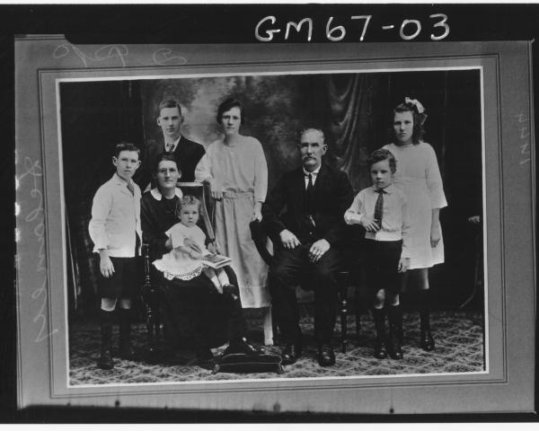 COPY OF FAMILY PORTRAIT, DELANEY