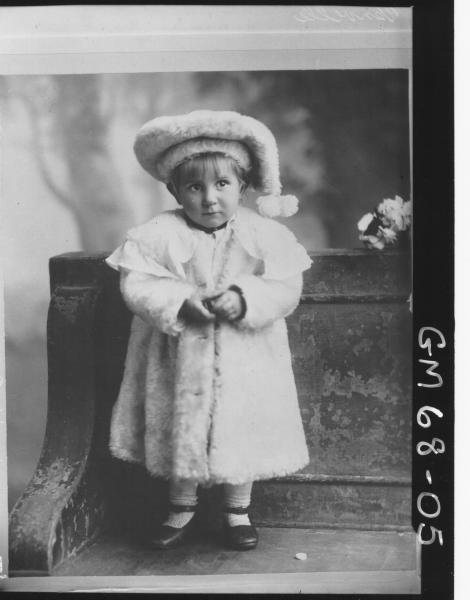 PORTRAIT OF CHILD, F/L VENVILLE, COPY