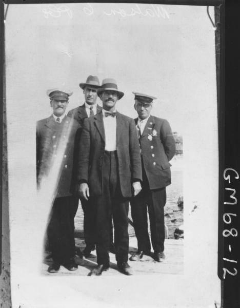 FOUR MEN BY THE SEA, WATSON