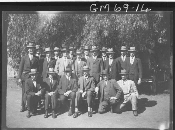 W.A. RIFLE CLUB, LARGE GROUP