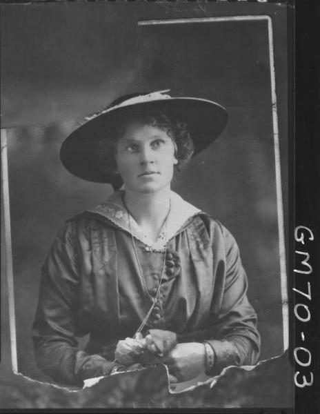 COPY OF PORTRAIT OF WOMAN, H/S, JONES