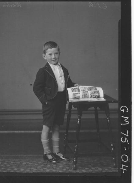 PORTRAIT OF BOY, F/L, MARTIN