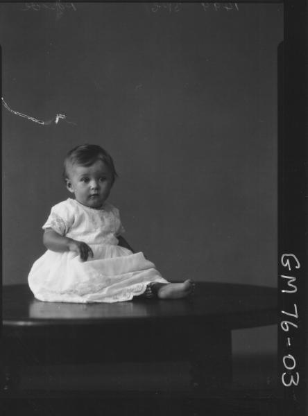 PORTRAIT OF BABY, PASCOE