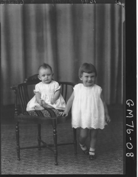 PORTRAIT OF TWO CHILDREN, PHILLIPS