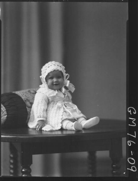 PORTRAIT OF BABY, Lorraine Florence POLLOCK
