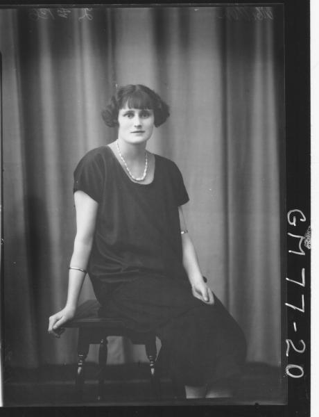 PORTRAIT OF WOMAN, MILLER