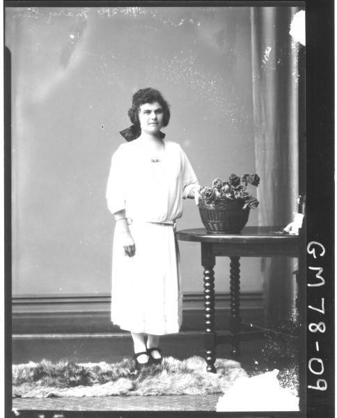 PORTRAIT OF WOMAN, MARY SAIN