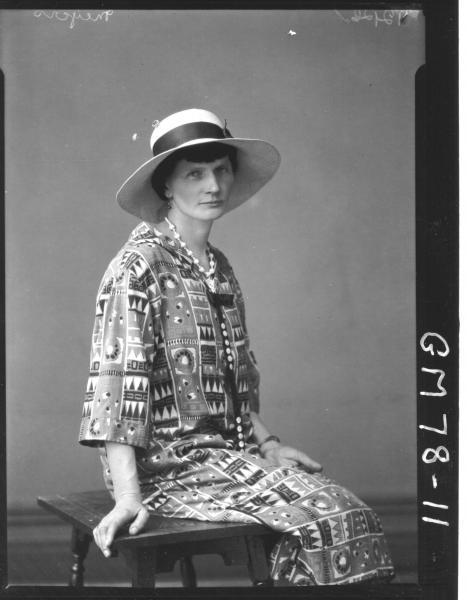 PORTRAIT OF WOMAN, MEYERS