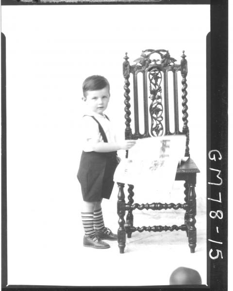 PORTRAIT OF BOY, F/L, MORIARTY