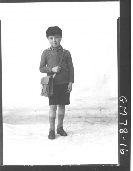 PORTRAIT OF BOY, F/L, MANNERS