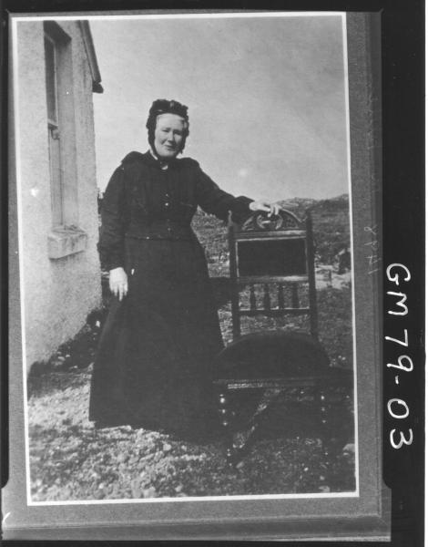 COPY OF OLD WOMAN, F/L, MILLEN