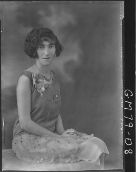 PORTRAIT OF WOMAN, O'SHEA