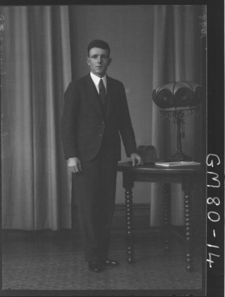 PORTRAIT OF MAN, F/L, OLDFIELD