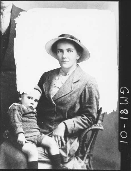 COPY OF PORTRAIT, WOMAN AND CHILD, PATTERSON