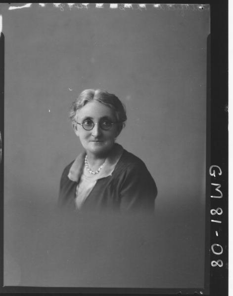 PORTRAIT OF WOMAN, H/S, OLDFIELD