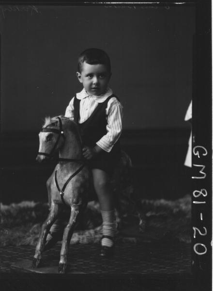 PORTRAIT OF CHILD, F/L, KIRKBY