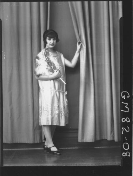 PORTRAIT OF WOMAN, F/L, KENT