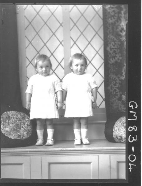 PORTRAIT OF TWO CHILDREN, F/L KING