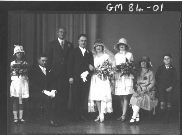 PORTRAIT OF WEDDING GROUP, BAYMAN