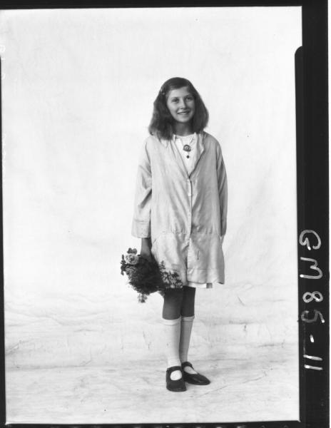 PORTRAIT OF GIRL, F/L, ASHER