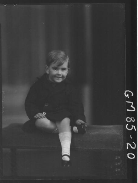 PORTRAIT OF BOY, H/S, ATKINS