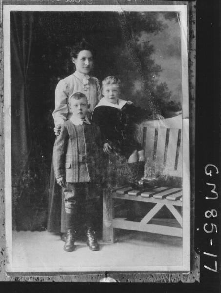 COPY OF PORTRAIT OF WOMAN AND TWO CHILDREN, ALLEN